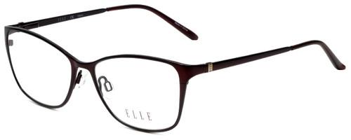 Elle Designer Eyeglasses EL13406-BU in Burgundy 53mm :: Custom Left & Right Lens