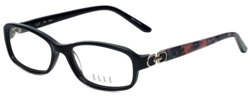 Elle Designer Eyeglasses EL13387-BK in Black 52mm :: Rx Single Vision