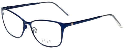 Elle Designer Eyeglasses EL13406-NV in Navy Blue 53mm :: Rx Single Vision