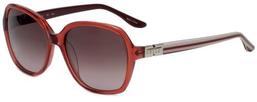 Elle Designer Sunglasses EL14832-PK in Pink with Rose Gradient Lens