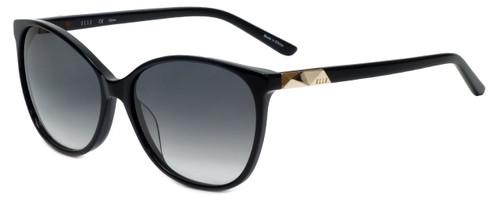 Elle Designer Sunglasses EL14842-BK in Black with Grey Gradient Lens