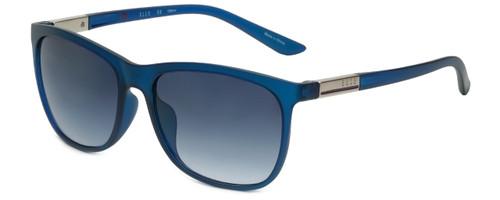 Elle Designer Sunglasses EL14846-GN in Blue Green with Blue Gradient Lens