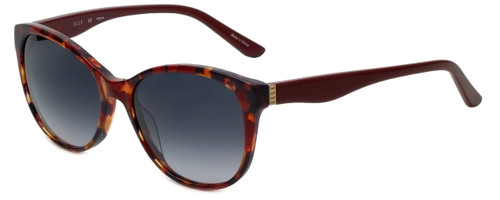 Elle Designer Sunglasses EL14849-RE in Red with Grey Gradient Lens