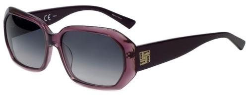 Elle Designer Sunglasses EL18959-PU in Purple with Grey Gradient Lens