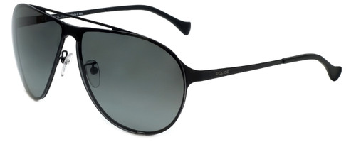 Police Designer Sunglasses Reward 1 in Matte Black with Grey Lens