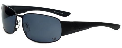 Wilson Designer Sunglasses  1025 in Black with Grey Lens