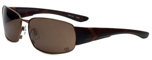 Wilson Designer Sunglasses 1025 in Brown with Amber Lens