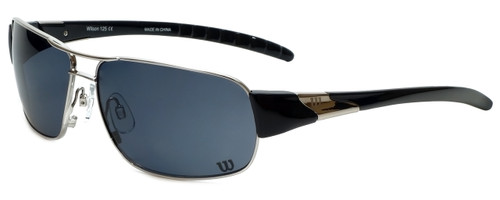 Wilson Designer Sunglasses Runner Major League Collection 1027 in Silver with Grey Lens