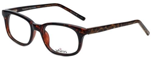 Whims Designer Eyeglasses TR5885AK in Tortoise 50mm :: Custom Left & Right Lens
