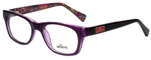 Whims Designer Eyeglasses TRO9141AK in Purple 50mm :: Custom Left & Right Lens