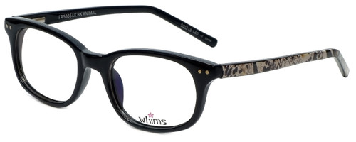 Whims Designer Reading Glasses TR5885AK in Black 50mm