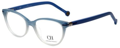 Carolina Herrera Designer Eyeglasses VHE660-0N91 in Blue Fade 52mm :: Custom Left & Right Lens