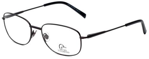 Ducks Unlimited Designer Eyeglasses Lincoln in Charcoal 57mm :: Progressive