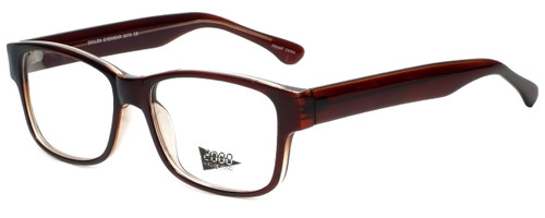 2000 and Beyond Designer Eyeglasses 3079 in Brown 60mm :: Rx Single Vision