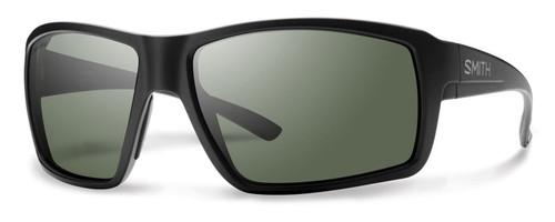 Smith Optics Colson Designer Sunglasses in Matte Black with Polarized Grey Lens
