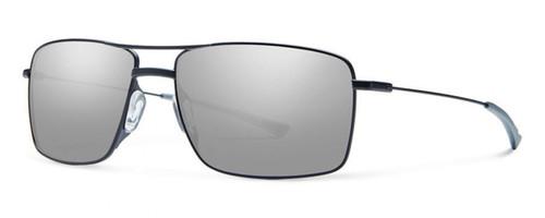 Smith Optics Designer Sunglasses Turner in Matte Black with Platinum Lens