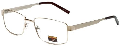 Gotham Style Designer Eyeglasses GS14 in Gold 59mm :: Custom Left & Right Lens