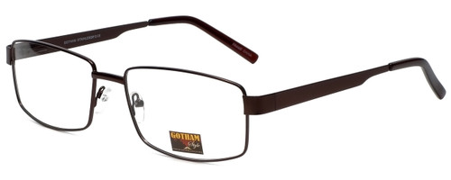 Gotham Style Designer Eyeglasses GS13 in Brown 58mm :: Rx Bi-Focal