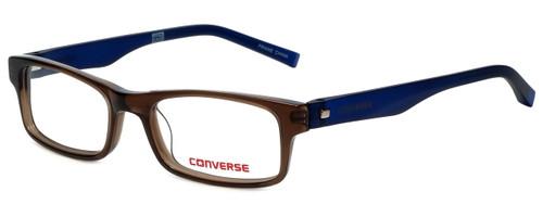 Converse Designer Eyeglasses K011 in Brown 47mm :: Rx Single Vision