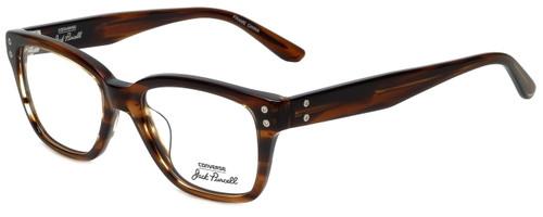 Converse Designer Eyeglasses P003 in Brown Horn 51mm :: Rx Single Vision