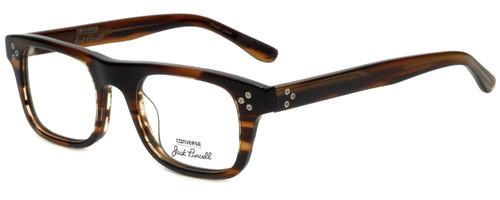 Converse Designer Eyeglasses P004 in Brown Horn 50mm :: Rx Single Vision