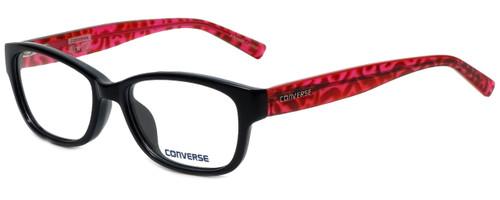 Converse Designer Eyeglasses Q035 in Black 49mm :: Rx Single Vision