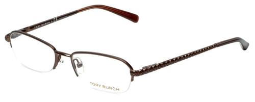 Tory Burch Designer Eyeglasses TY1003-104 in Brown 52mm :: Progressive