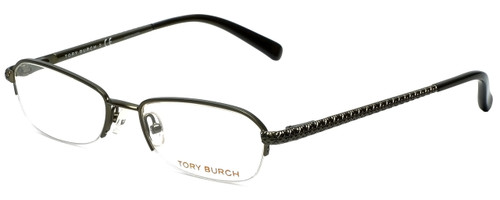 Tory Burch Designer Eyeglasses TY1003-182 in Olive 50mm :: Rx Bi-Focal