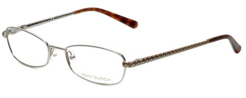 Tory Burch Designer Eyeglasses TY1009-102 in Silver 51mm :: Rx Bi-Focal