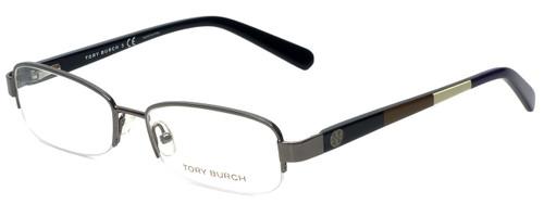 Tory Burch Designer Eyeglasses TY1031-103 in Gunmetal 52mm :: Rx Bi-Focal