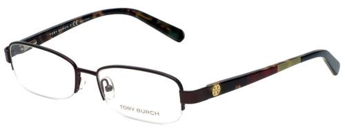 Tory Burch Designer Eyeglasses TY1031-147 in Burgundy 52mm :: Rx Bi-Focal