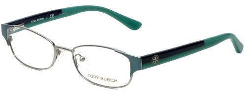 Tory Burch Designer Eyeglasses TY1037-3002 in Mint Silver 50mm :: Rx Bi-Focal