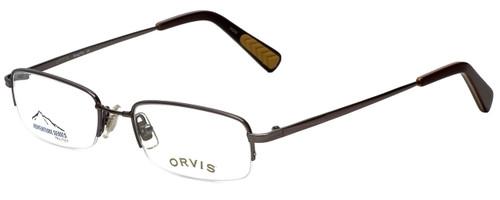 Orvis Designer Eyeglasses DragonFly in Gunmetal 49mm :: Progressive