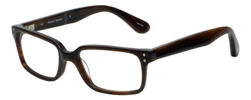 Hackett London Designer Reading Glasses HEB093-103 in Brown Horn 53mm