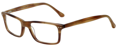 Hackett London Designer Reading Glasses HEB126-14 in Brown Horn 55mm