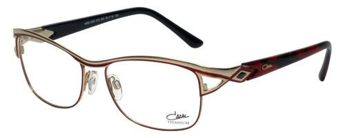 Cazal Designer Eyeglasses Cazal-1095-002 in Red Gold 55mm :: Custom Left & Right Lens