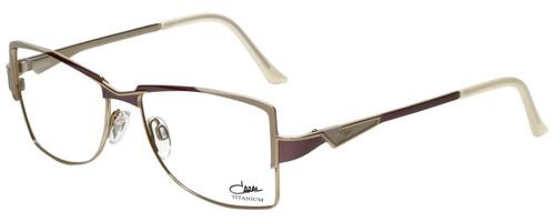Cazal Designer Eyeglasses Cazal-1201-003 in Purple White 54mm :: Custom Left & Right Lens