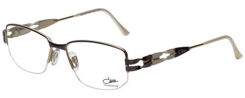 Cazal Designer Eyeglasses Cazal-1203-001 in White 52mm :: Custom Left & Right Lens