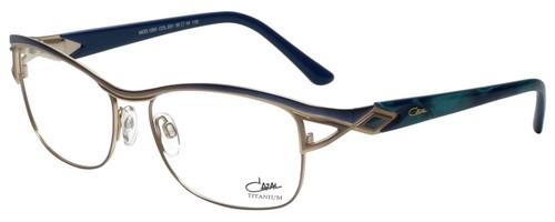 Cazal Designer Eyeglasses Cazal-1095-001 in Blue Green 55mm :: Rx Single Vision