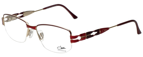 Cazal Designer Eyeglasses Cazal-1203-002 in Red 52mm :: Rx Single Vision