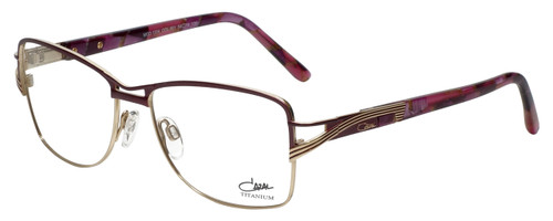 Cazal Designer Eyeglasses Cazal-1204-001 in Purple 54mm :: Rx Single Vision