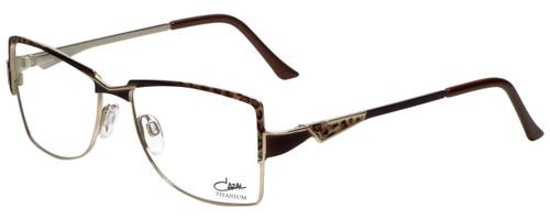 Cazal Designer Eyeglasses Cazal-1201-004 in Leopard Gold 54mm :: Rx Bi-Focal