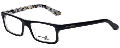 Arnette Designer Eyeglasses Lo-Fi AN7060-1119 in Black on Graphics 47mm :: Progressive