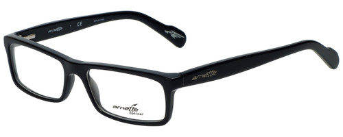 Arnette Designer Eyeglasses Rhythm AN7065-1143 in Shiny Black 53mm :: Progressive
