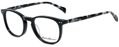 Eddie Bauer Designer Reading Glasses EB32210-BK in Black with Blue Light Filter + A/R Lenses