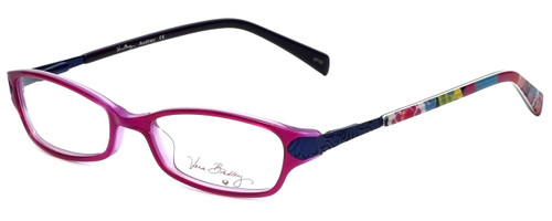 Vera Bradley Reading Glasses Audrey-VVB in Va Va Bloom with Blue Light Filter + A/R Lenses