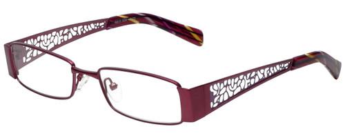 Calabria Designer Eyeglasses 812-PUR in Purple 49mm :: Rx Single Vision