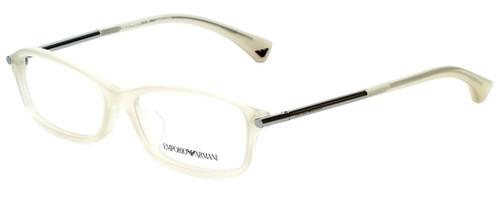 Emporio Armani Designer Eyeglasses EA3006F-5082 in Opal Beige 53mm :: Progressive