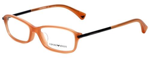 Emporio Armani Designer Eyeglasses EA3006F-5083 in Opal Coral 53mm :: Progressive