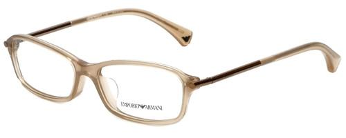 Emporio Armani Designer Reading Glasses EA3006F-5084 in Opal Brown Pearl 53mm